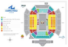 Campus World Stadium Seating Chart Tickets Florida Blue Florida Classic Famu Vs B Cu