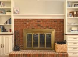 how to remove brick fireplace surround woodworking