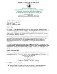 Customer Satisfaction Survey Cover Letter The Letter Sample