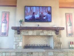 old growth redwood sleeper custom milled into a mantel including corbels and foppiano vineyard with bolt
