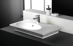 rak once 80cm her offset counter top basin with porcelain waste white opu80basf cc at victorian plumbing uk