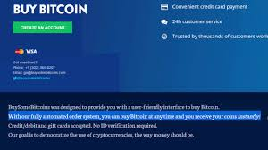 bitcoin with credit debit and gift cards no id verification required
