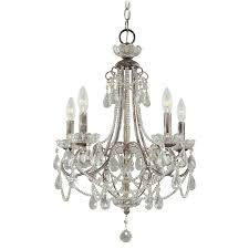 5 light mini chandelier 3134 207 minka lavery