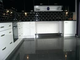 dark tile kitchen floor using high gloss tiles for kitchen is good interior dark gray tile