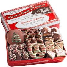 golden state fruit handmade chocolate collection holiday gift tin 24 oz walmart
