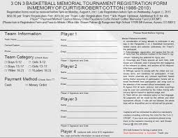 Tournament Sign Up Sheets 3 On 3 Basketball Tournament Rangeview High School