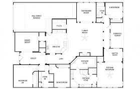 good bedroom house plans one story one bedroom open floor small cottage 4 bedroom single