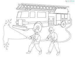 Truck Coloring Pages Free Fire Engine Spectacular To Dump Sheet Lego