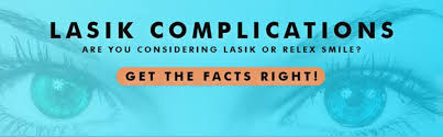Image result for SMILE and LASIK complications,