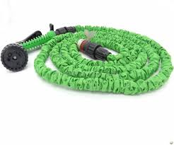 cas 724 expandable irrigation hose sprinkler 7 pattern 7 5m 25ft
