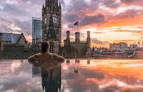 Manchesters first baby grand hotel features stunning infinity pool