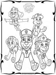 Coloring Pages Paw Patrol Printable Coloring Pages For Kids Skye