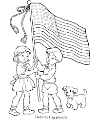 Small Picture Veterans Day Coloring Pages Hold the flag proudly Coloring Page