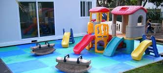 outdoor padding for playground wet pour materials