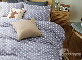 double duvet cover with stars sweetgalas