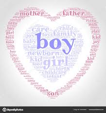 Boy Word Cloud One Heart Another Heart Gradient Grey Background