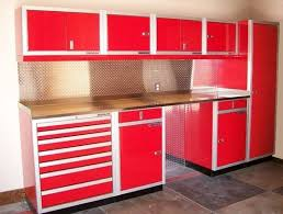 15 Collection of Metal Garage Storage Cabinets