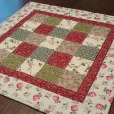 Shop Square Table Topper on Wanelo & Quilted Table Topper, candle mat, 19