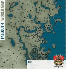 fallout  world map  fallout   maps walkthrough  game guide