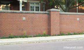 brick fences. Wonderful Brick Brickfence To Brick Fences D