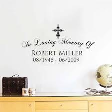 In Loving Memory Quotes Delectable DCTOP Quotes In Loving Memory Of Plane Wall Stickers Text Robert