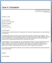 Bunch Ideas of Cover Letter For Interior Design Resume For Proposal