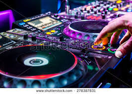 audio equipment stock photos royalty images vectors dj mixes the track in the nightclub at party