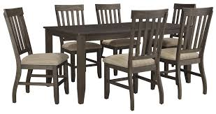 Round Dining Table with Leaves  Kitchen Dinette Sets  Ashley Dinette Sets