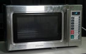 daewoo 1 cu ft 1 000 watt commercial countertop microwave stainless steel 269 value for in fresno ca offerup