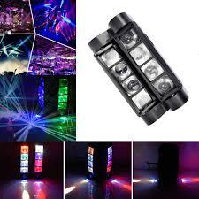 Used Moving Head Stage Lights 8led Moving Head Stage Lighting Rgb 80w Spider Beam Light