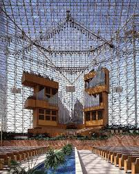 crystal cathedral garden grove orange county california usa