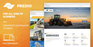 Muse Website Templates Adorable Predio Responsive Industrial And Construction One Page Muse
