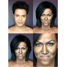 into female hollywood celebrities paolo ballesteros makeup transformation as mice obama asian