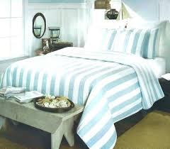 coastal bedding quilts bed bath and beyond aqua cabana stripe quilt set