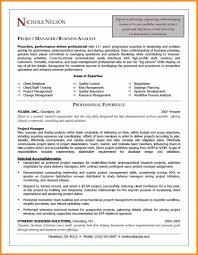 Sample Business Analyst Resume 11 12 Senior Qa Analyst