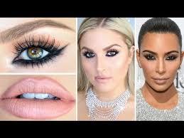 kim kardashian inspired makeup reverse smokey eye tutorial