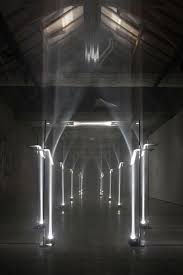 inspiracje troika making architecture out of light this site specific installation by the london based design studio troika was on exhibit last month