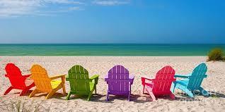 adirondack chairs on beach sunset. Plain Chairs Adirondack Chair On Beach At Sunset  Intended Chairs On