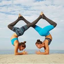 the person who broke you can t put you back together two person yoga posespartner