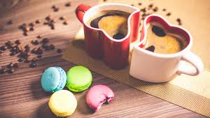 Cookie Coffee Cups Wallpaper Coffee Cups Cookies Coffee Beans 4k Lifestyle 6391