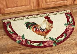 rooster rugs for kitchen rooster accent rugs for kitchen