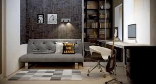 home office setups. 1. Minimal And Musical Home Office Setups I