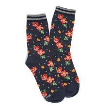 Patterned Crew Socks Interesting Inspiration Design