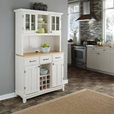 white dining room buffet hutch