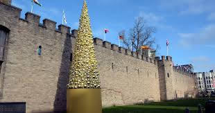 Cardiff council apologises for saying its 40ft Christmas tree ...