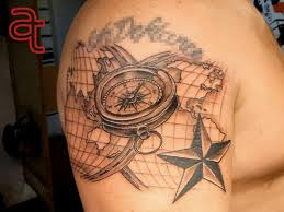 Compass Tattoo Atka Tattoo