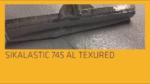 Sikalastic 745 Al Textured