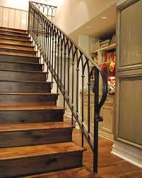 wrought iron railing. 14 Terrific Iron Stair Railing Designs Pic Ideas Wrought