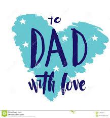 Lettrage De Main De Jour Du S De Père Citation Au Papa Avec Amour