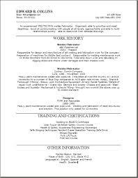welding resume welder resume sample doc welder resume welding - Job  Description For Welder